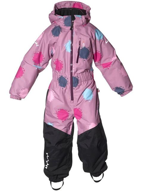 Isbjörn Penguin Snowsuit Kids Dustypink Globe